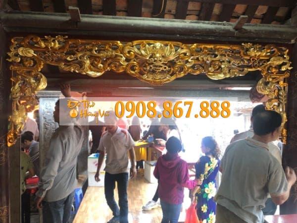 Mẫu Cửa Võng Thờ CV-0289