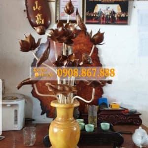 Mẫu Hoa Sen Thờ HS-0465