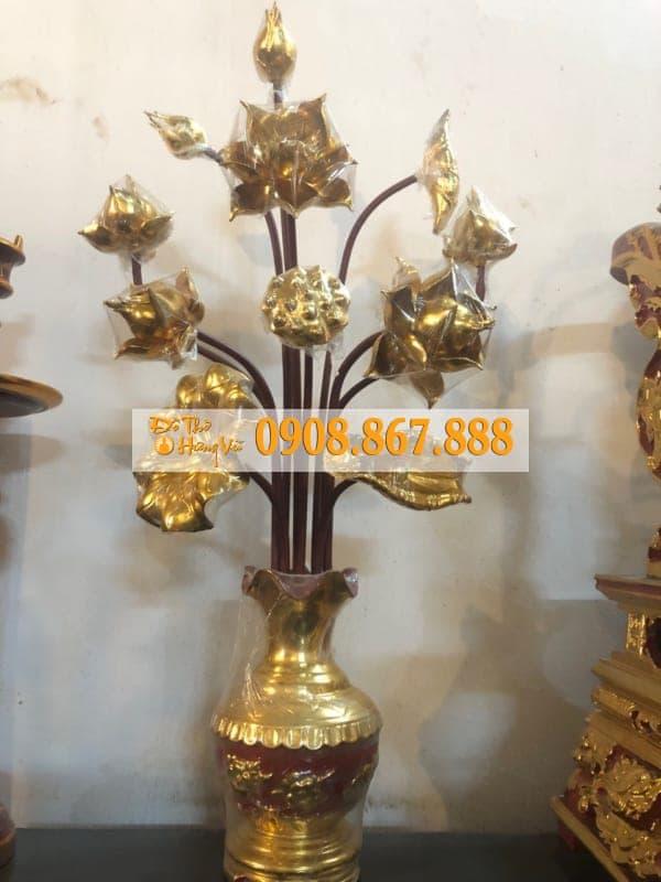 Mẫu Hoa Sen Thờ HS-0087
