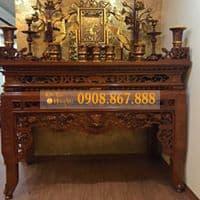 bàn thờ án gian gỗ mít