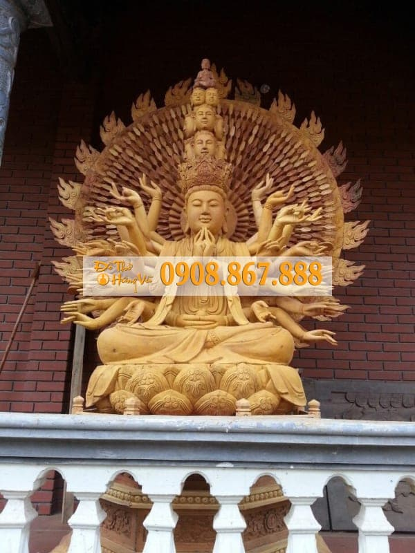 Tượng Phật Bà Thiên Thủ Thiên Nhãn