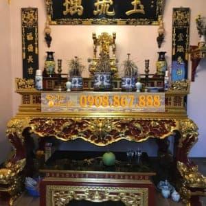 Bộ bàn thờ nhà a Hải , Phúc Thọ , Hà Nội