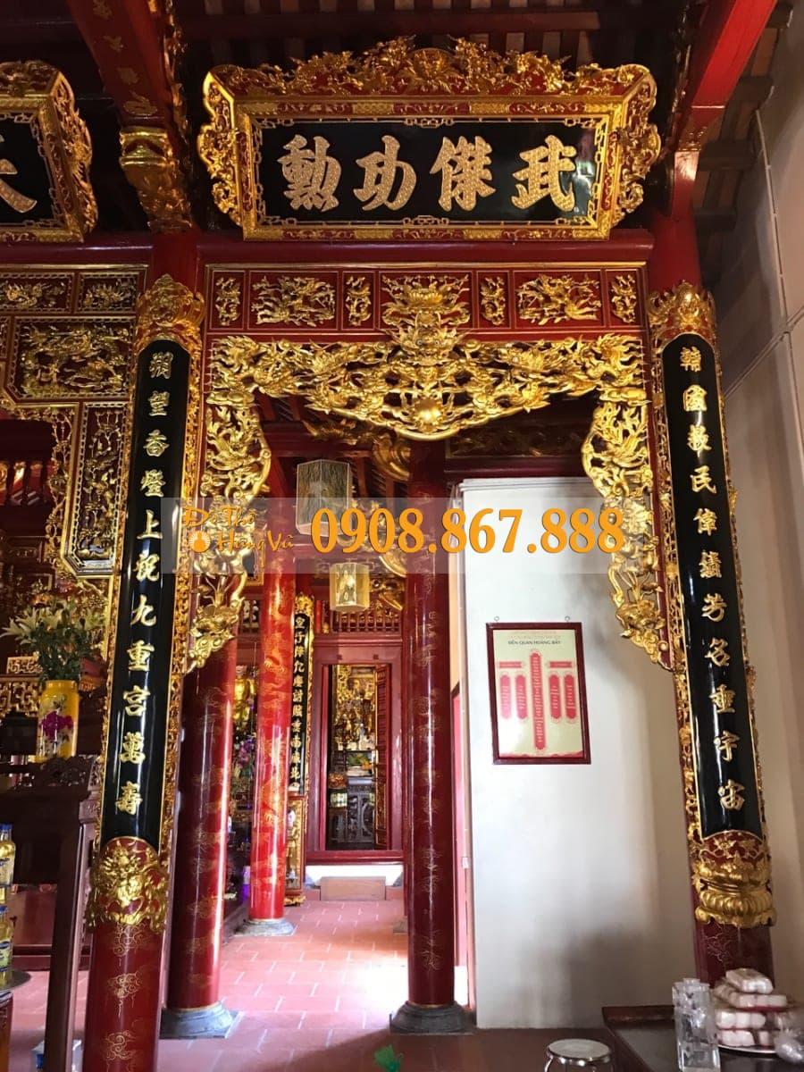 cửa võng cửu long tranh châu
