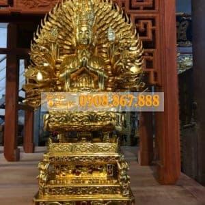 Tượng Phật Bà Quan Âm Thiên Thủ Thiên Nhãn 01