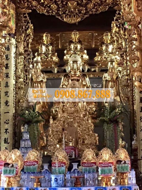 Tượng Tam Thế Phật 05