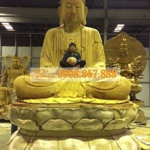 Tượng Phật A Di Đà 01