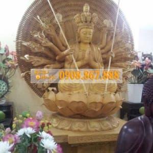 Tượng Phật Bà Quan Âm Thiên Thủ Thiên Nhãn 06