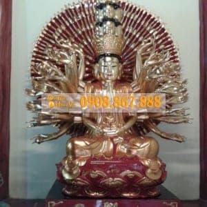 Tượng Phật Bà Quan Âm Thiên Thủ Thiên Nhãn 07
