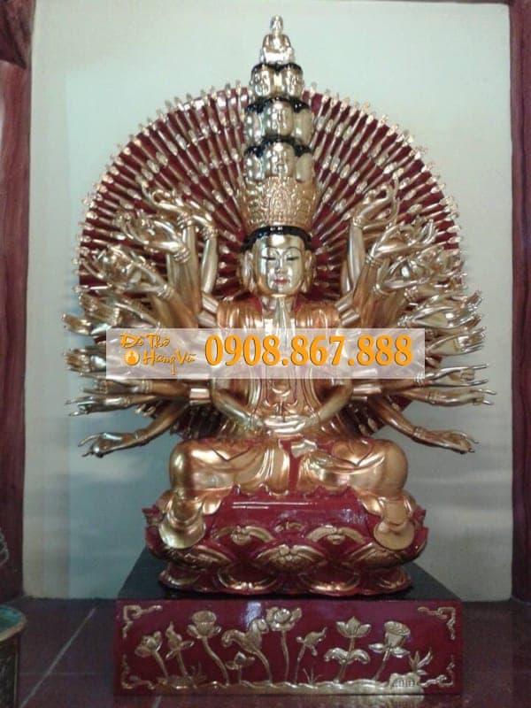 Tượng Phật Bà Quan Âm Thiên Thủ Thiên Nhãn