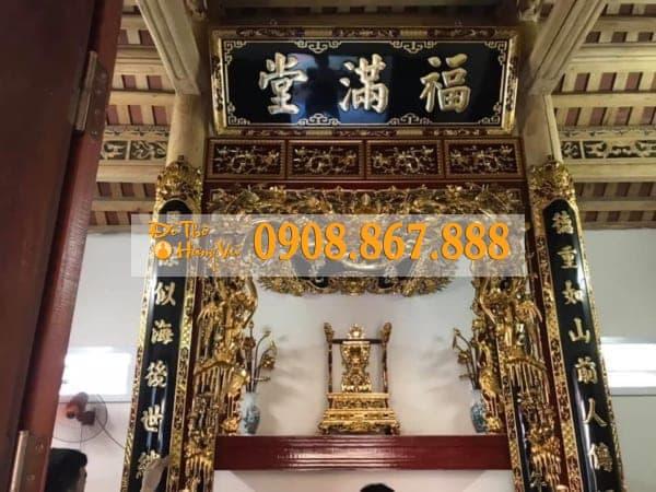Đồ thờ Sơn Son Thếp Vàng Truyền Thống