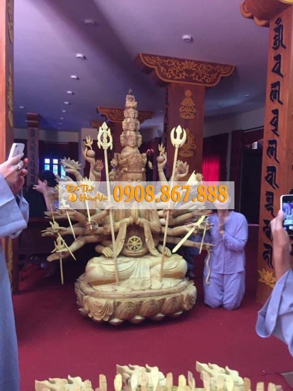 Mẫu Tượng Phật Bà Quan Âm