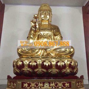 Tượng Phật Thích Ca Mâu Ni Gỗ Mít