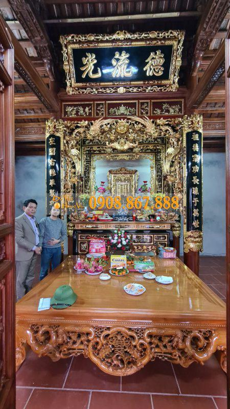 đồ thờ gian thờ truyền thống