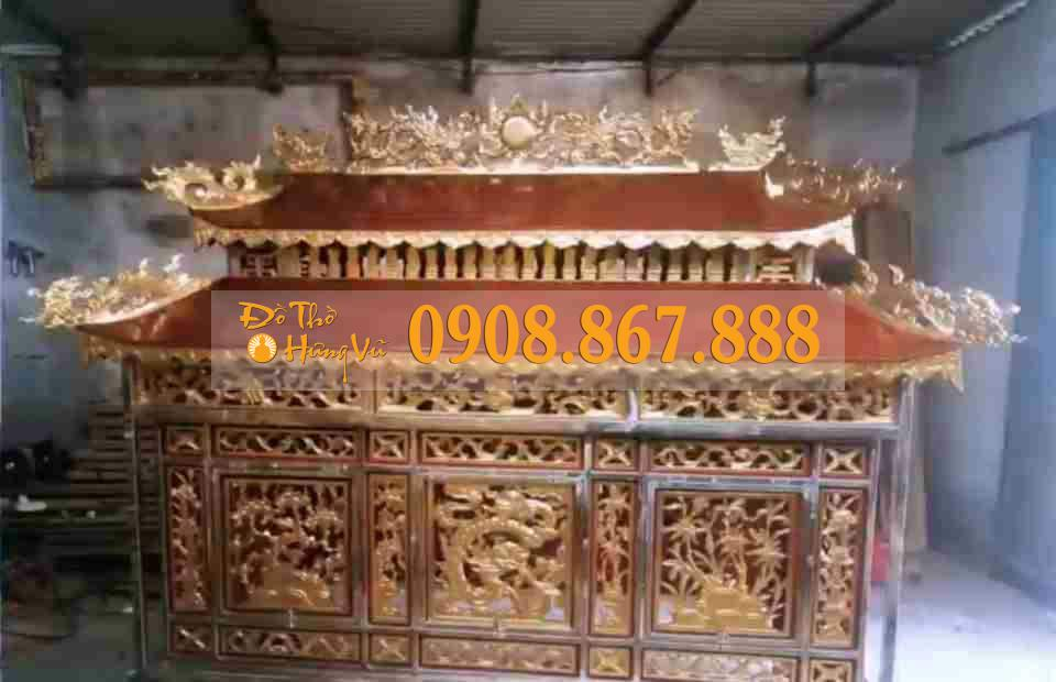 xe tang lễ bằng gỗ