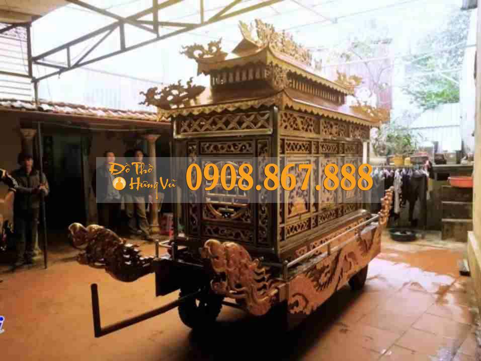 xe tang lễ gỗ