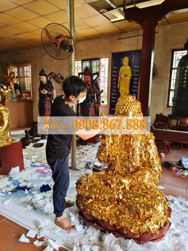 Dát Vàng Đồ Thờ Tượng Phật .