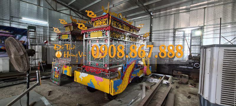 xe tang lễ inox