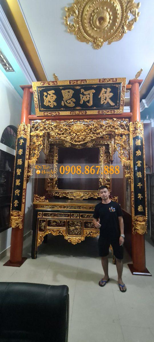 cửa võng thờ